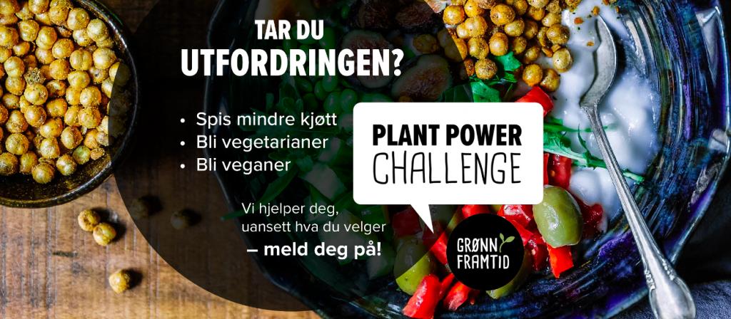 Bli med på Plant Power Challenge!